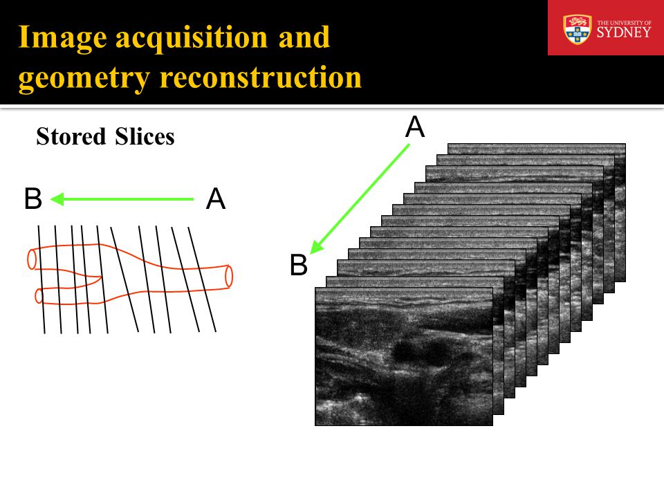 Image acquisition and geometry reconstruction