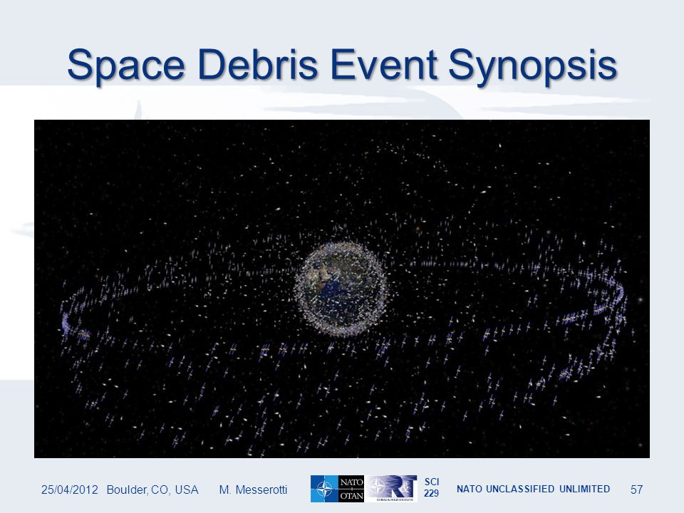 Space Debris Event Synopsis
