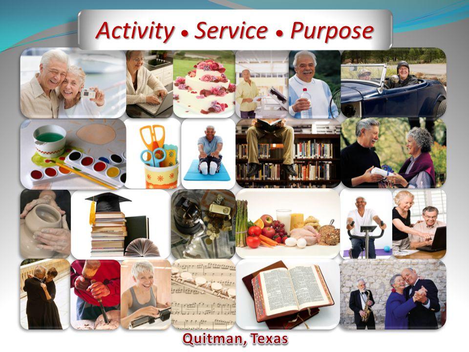 Activity  Service  Purpose