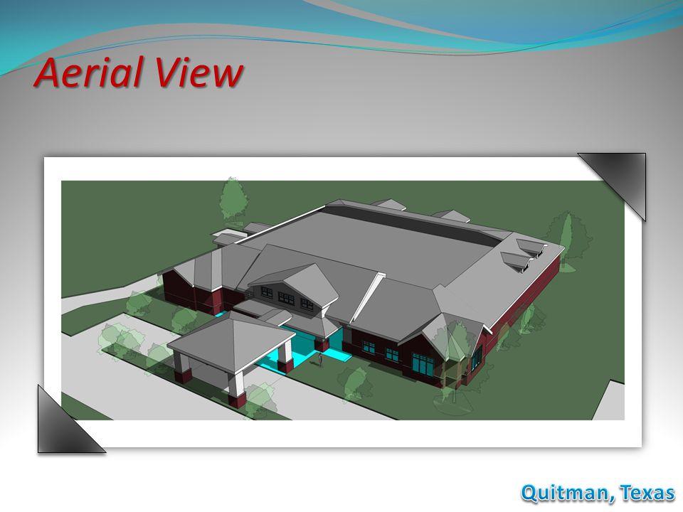 Aerial View Quitman, Texas