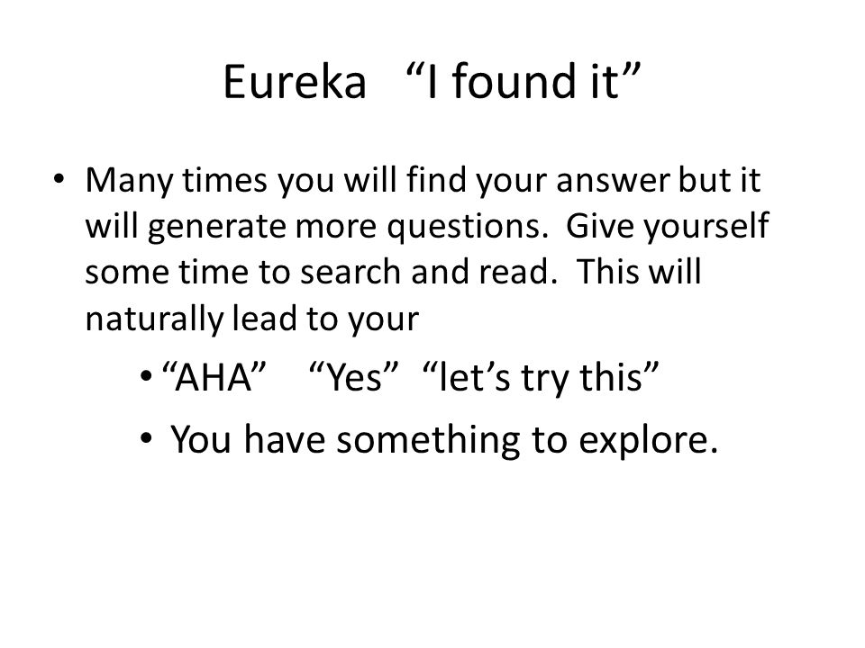 Eureka I found it AHA Yes let's try this