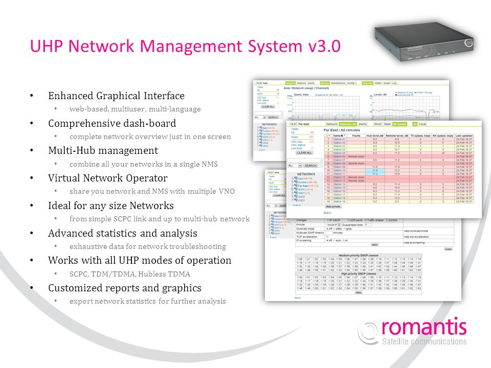 UHP Network Management System v3.0