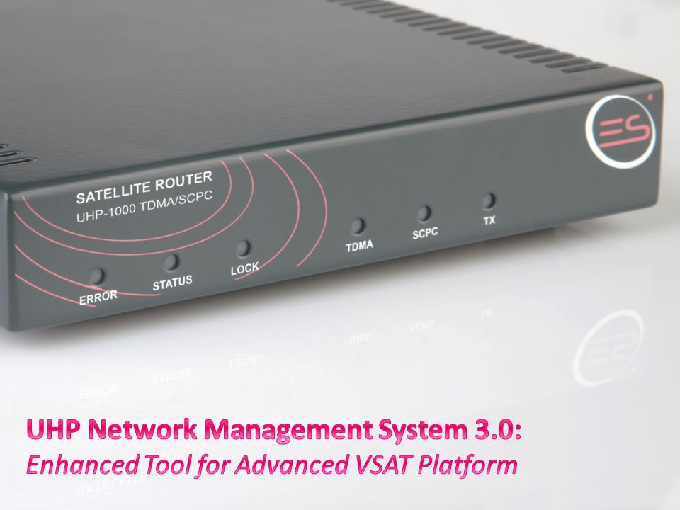 UHP Network Management System 3.0: