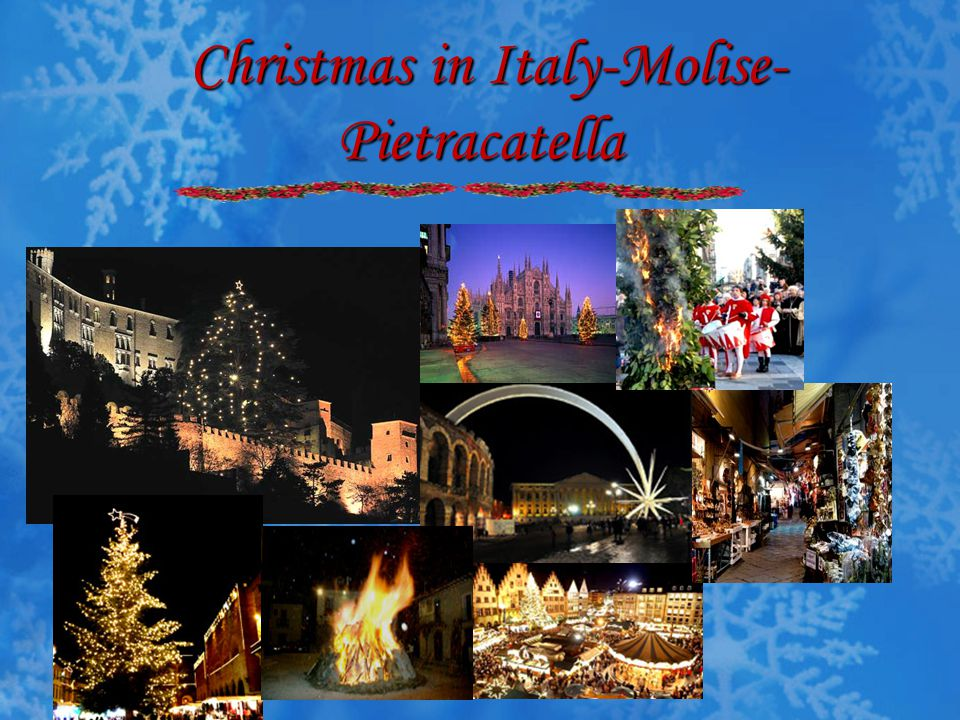 Christmas in Italy-Molise-Pietracatella