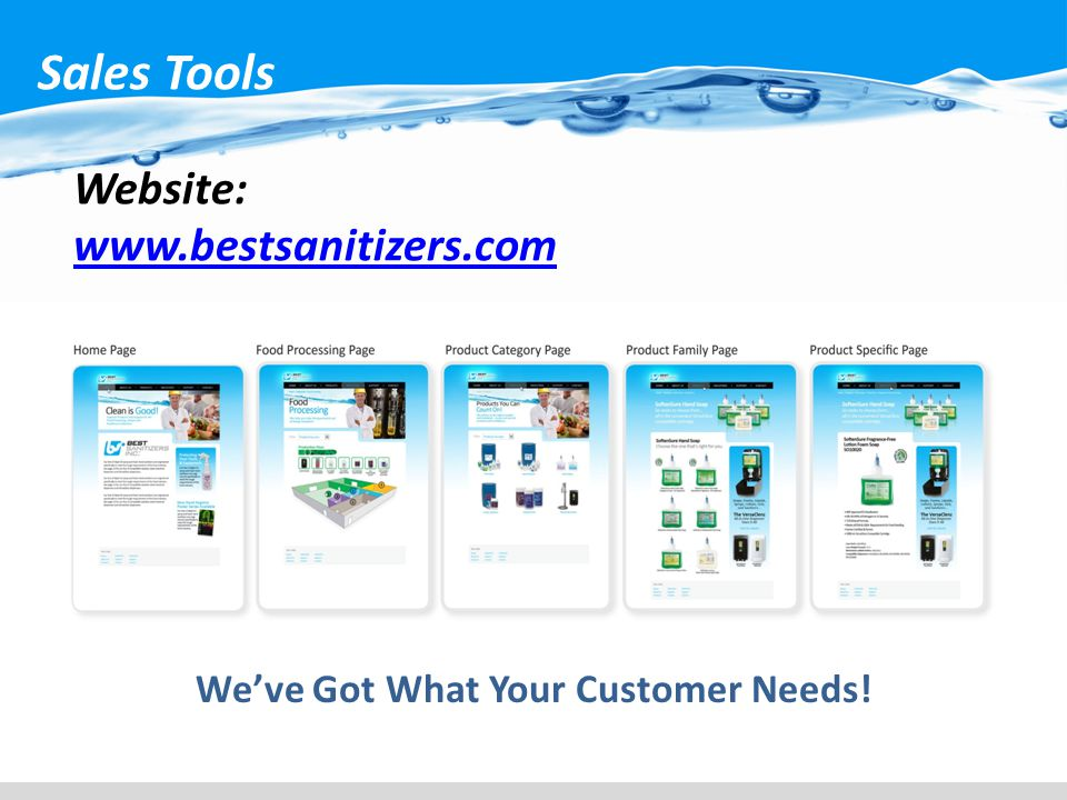 We've Got What Your Customer Needs!