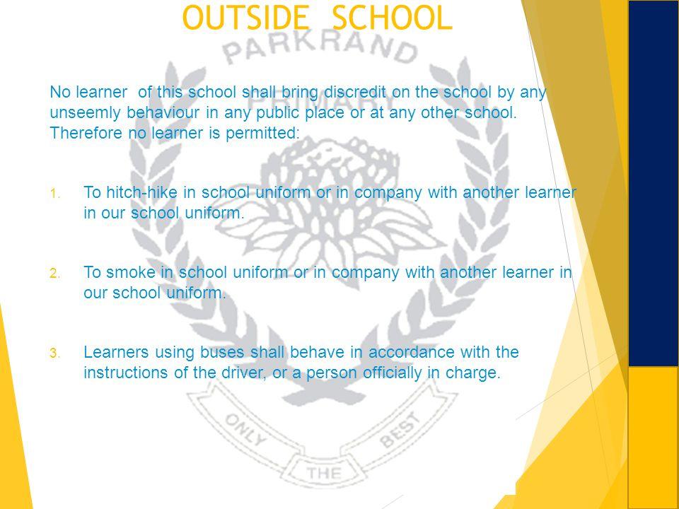 OUTSIDE SCHOOL