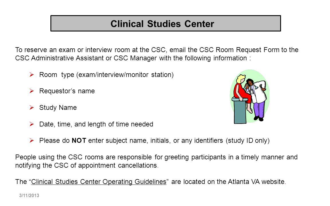 Clinical Studies Center