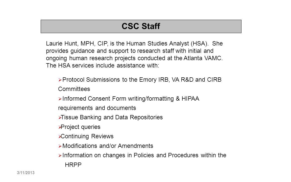 CSC Staff