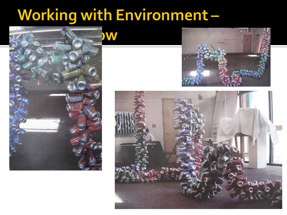 Working with Environment – Student Show