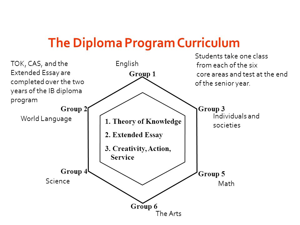 The Diploma Program Curriculum