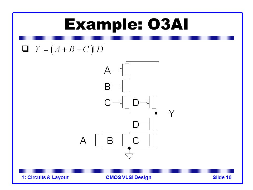 Example: O3AI 1: Circuits & Layout