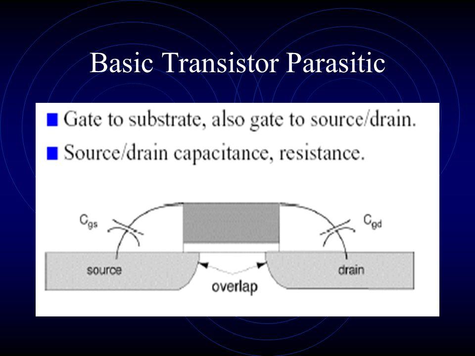 Basic Transistor Parasitic