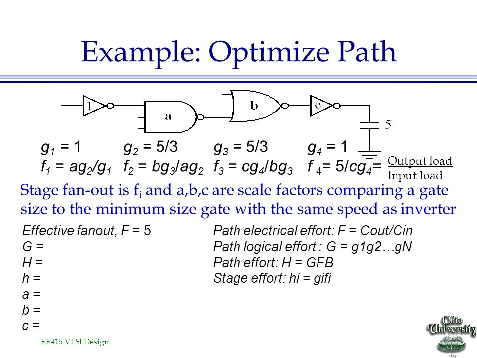 Example: Optimize Path