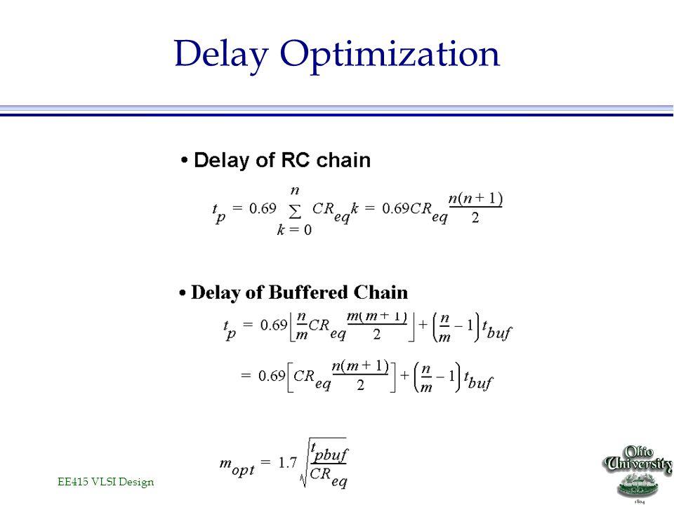 Delay Optimization