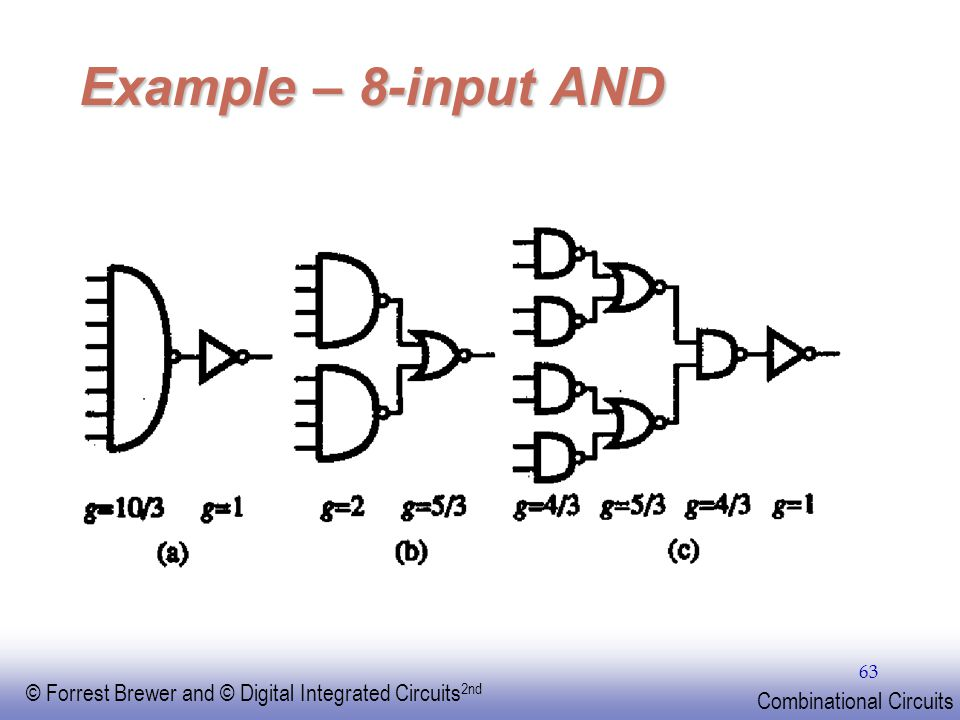 EE141 Example – 8-input AND