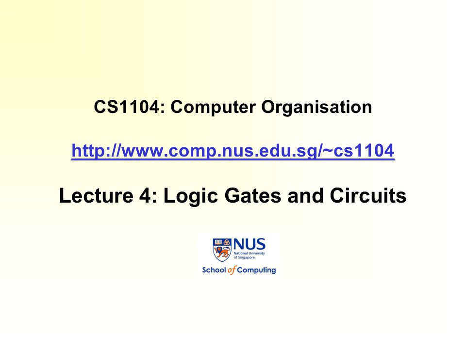 CS1103 Digital Logic Design