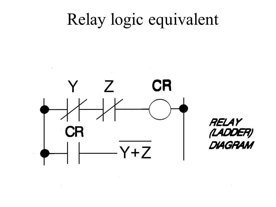 Relay logic equivalent
