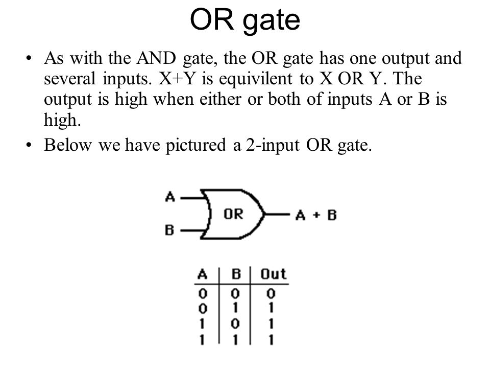 OR gate