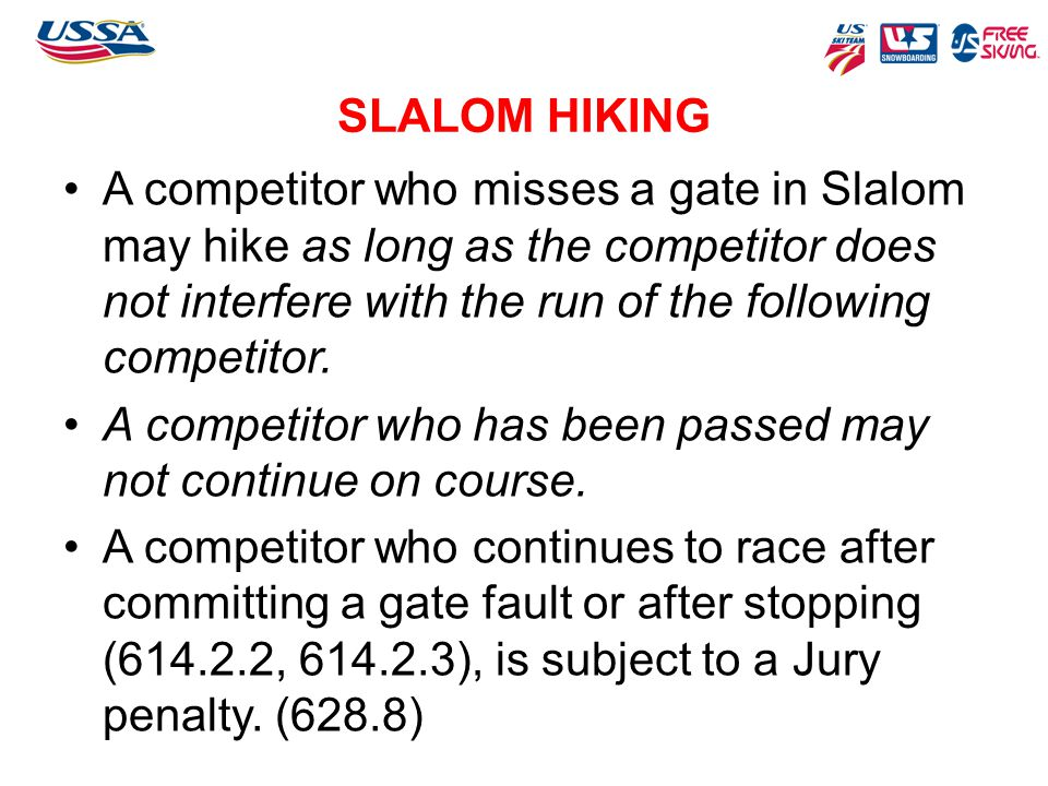 SLALOM HIKING