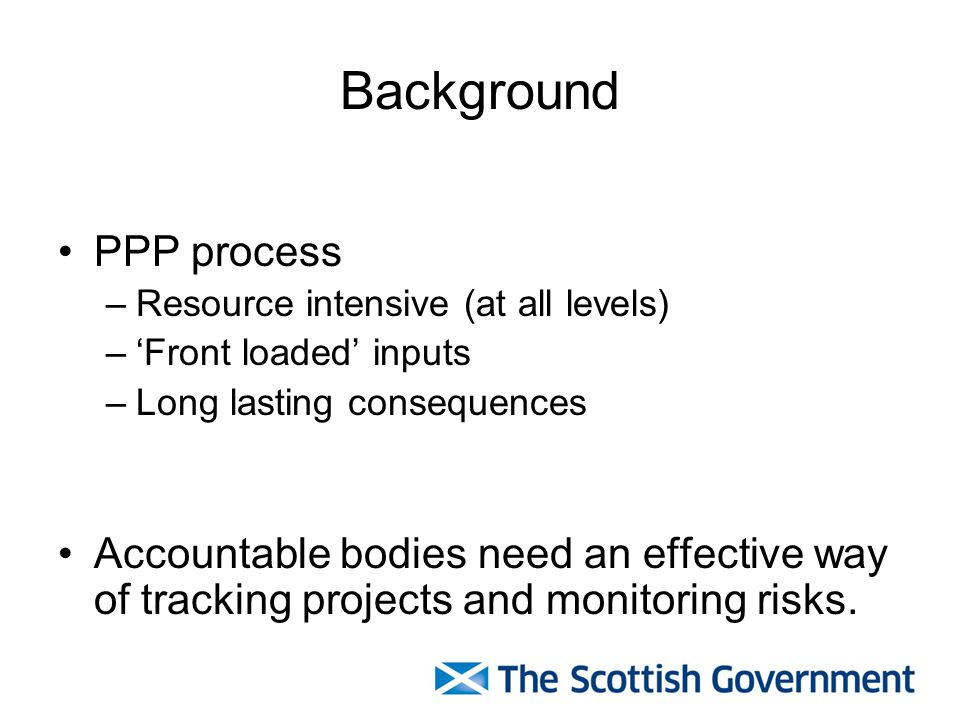 Background PPP process