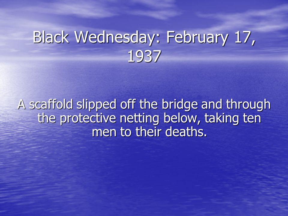 Black Wednesday: February 17, 1937