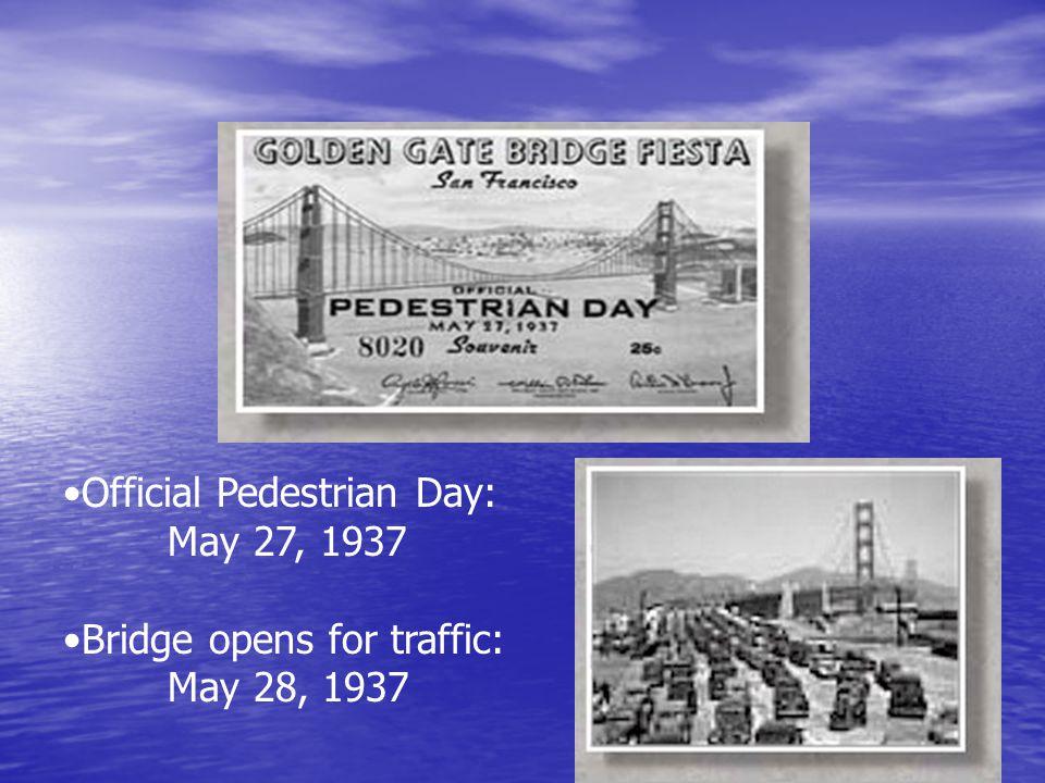 Official Pedestrian Day: