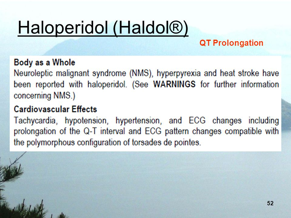 Haloperidol (Haldol®)