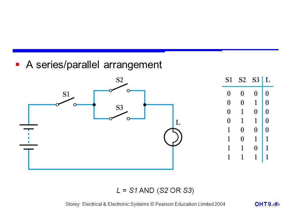 A series/parallel arrangement