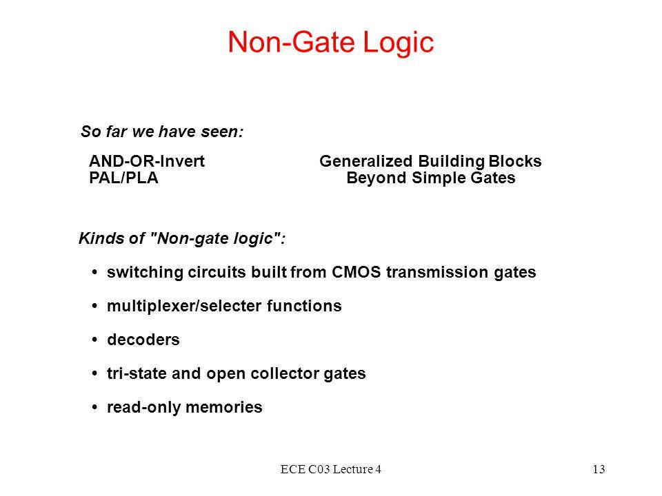 Generalized Building Blocks