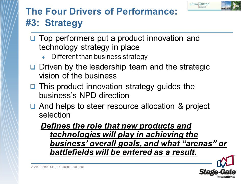 The Four Drivers of Performance: #3: Strategy