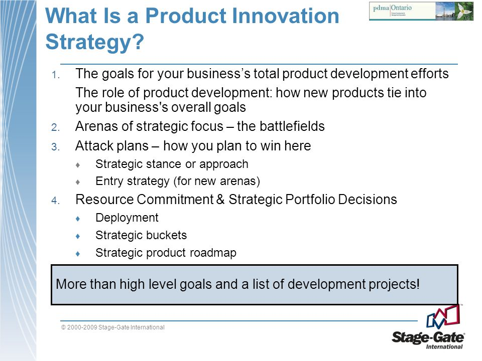 What Is a Product Innovation Strategy