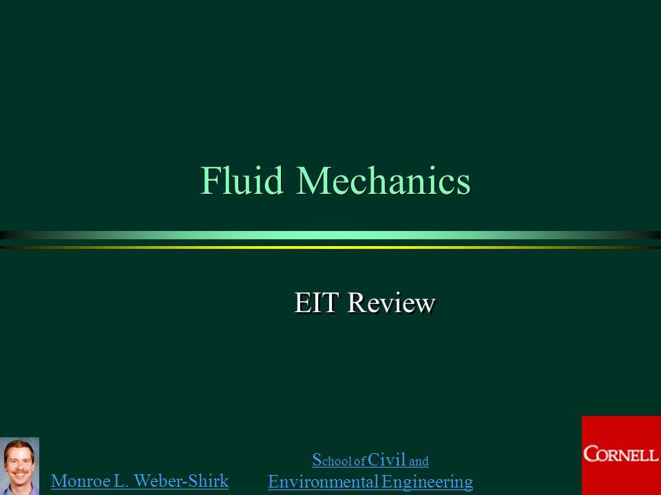Fluid Mechanics EIT Review