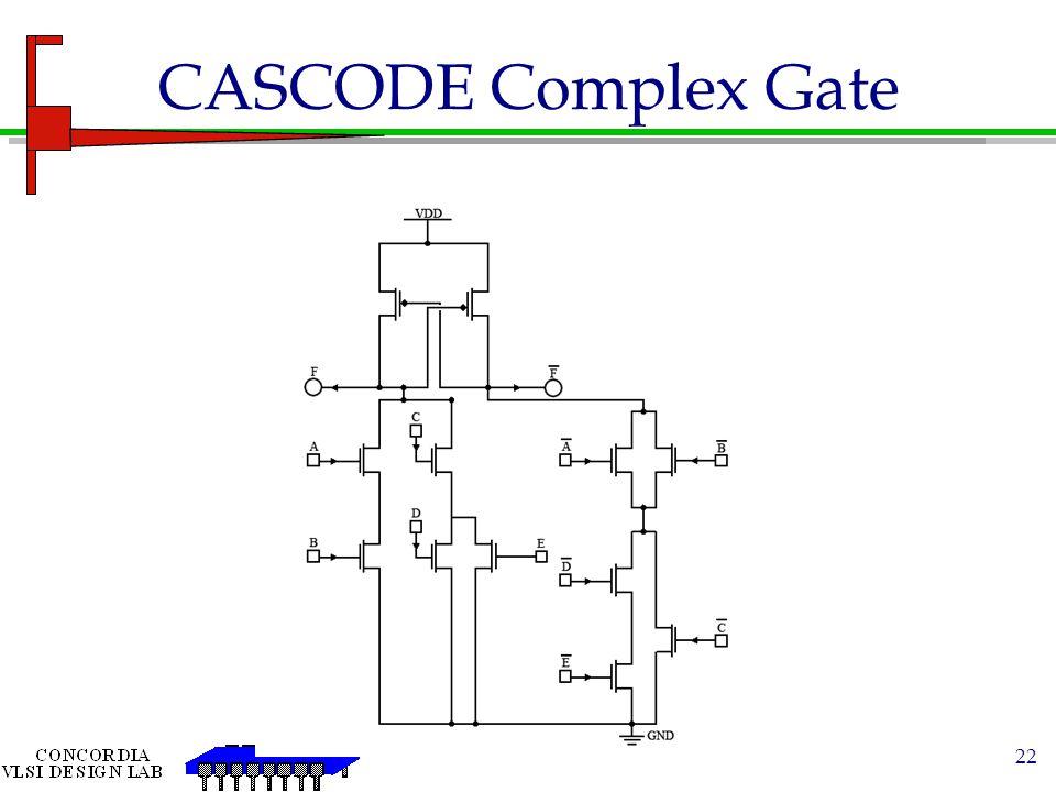CASCODE Complex Gate
