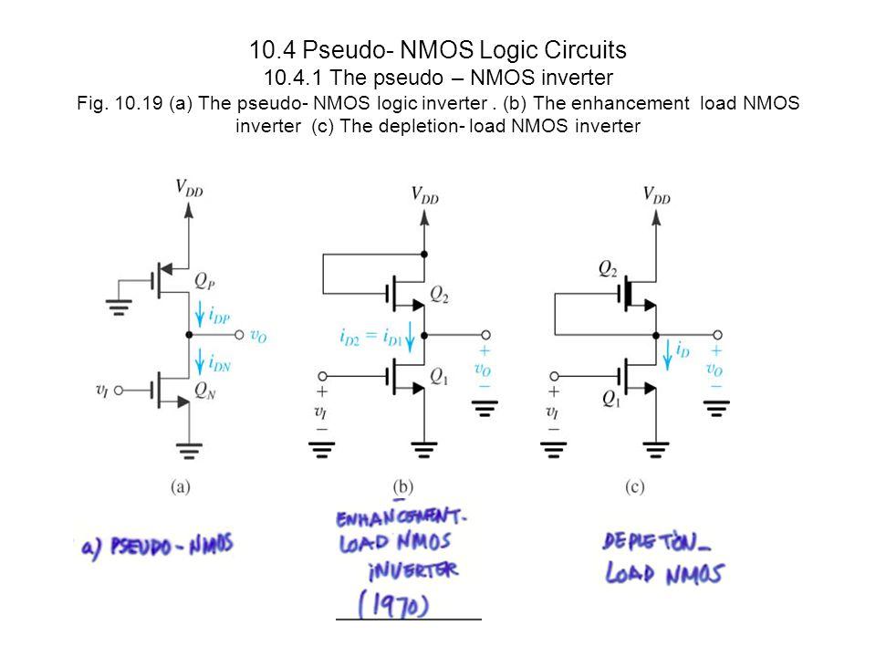 10. 4 Pseudo- NMOS Logic Circuits 10. 4