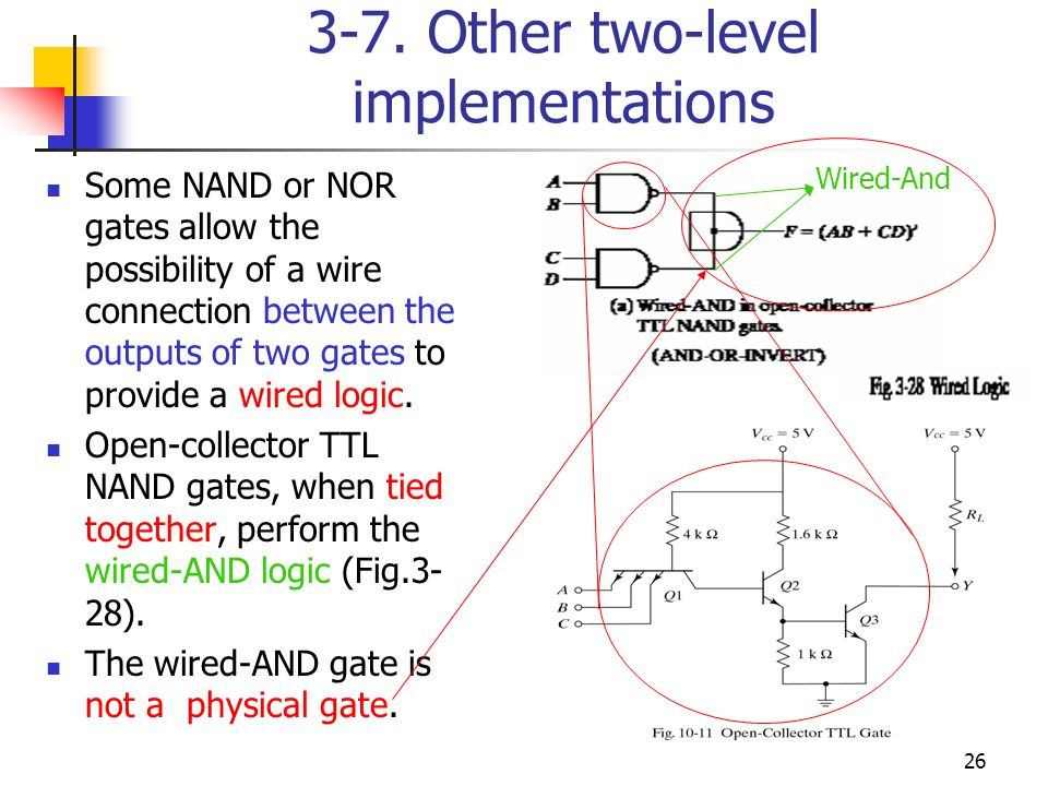 3-7. Other two-level implementations
