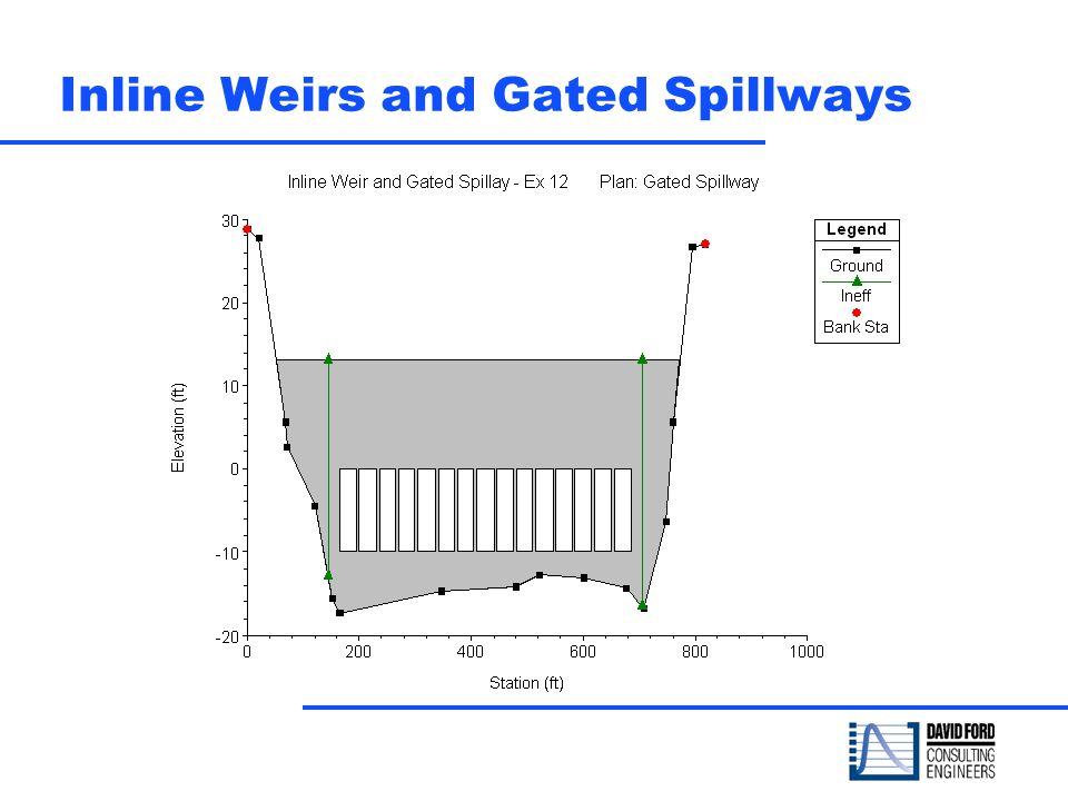 Inline Weirs and Gated Spillways