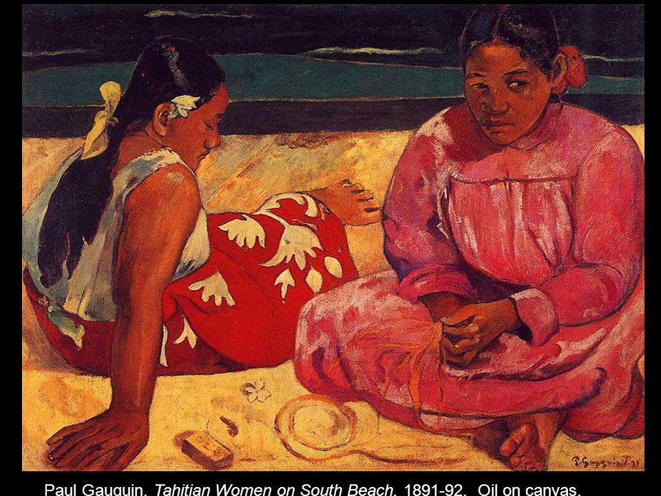 Paul Gauguin. Tahitian Women on South Beach. 1891-92. Oil on canvas.