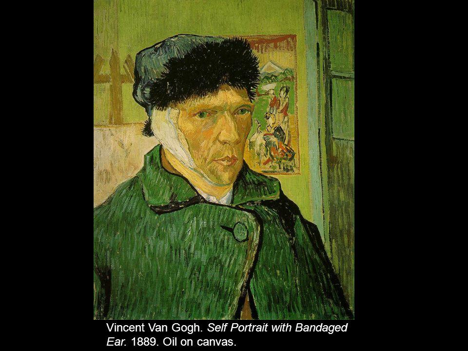 Vincent Van Gogh. Self Portrait with Bandaged