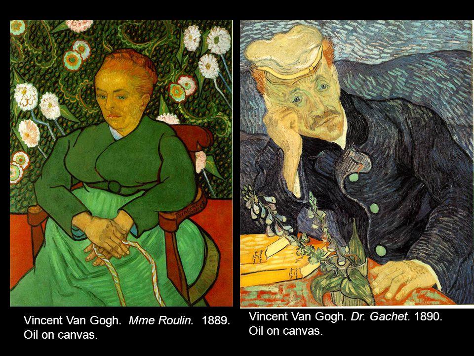 Vincent Van Gogh. Dr. Gachet. 1890.