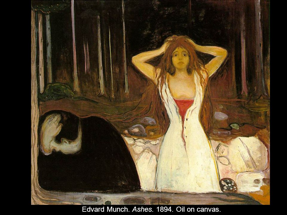 Edvard Munch. Ashes. 1894. Oil on canvas.