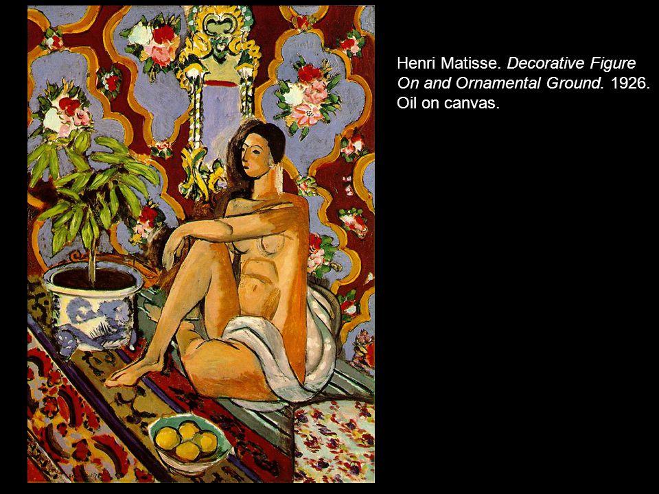 Henri Matisse. Decorative Figure