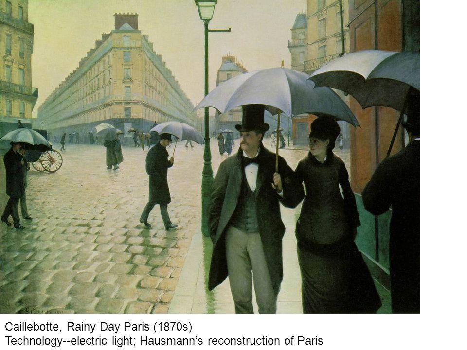 Caillebotte, Rainy Day Paris (1870s)