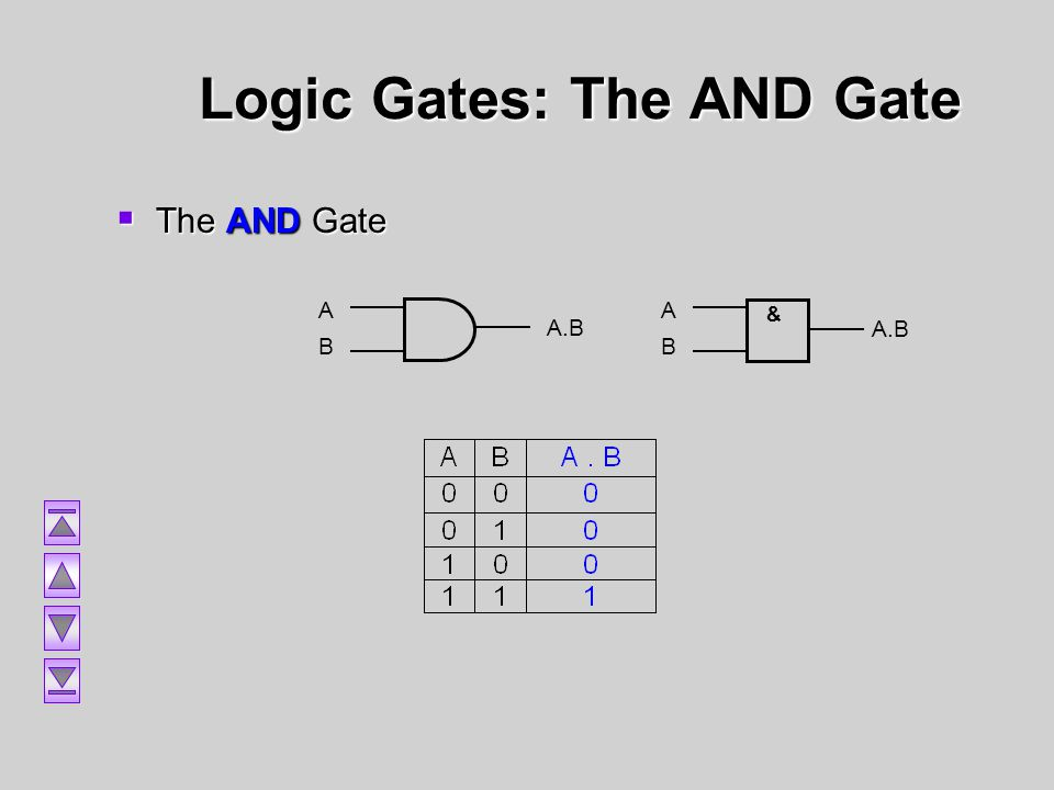 Logic Gates: The AND Gate