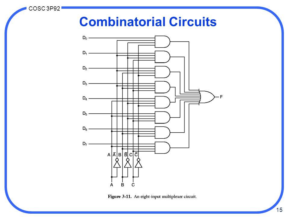Combinatorial Circuits