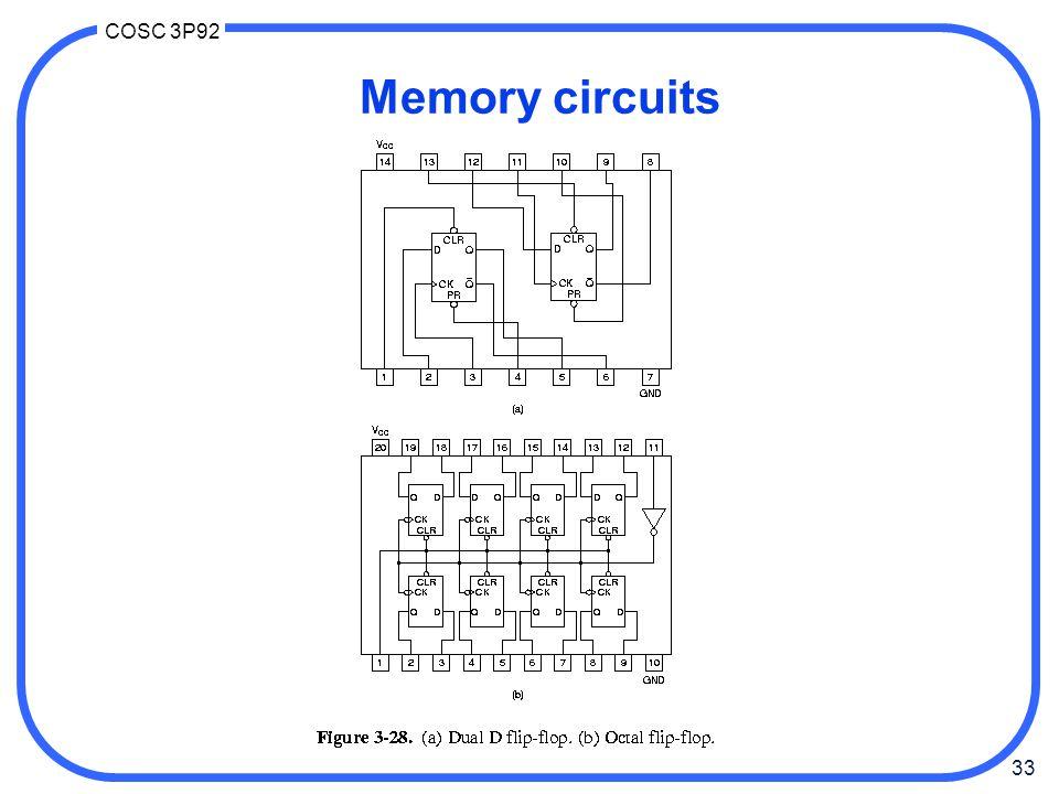 Memory circuits