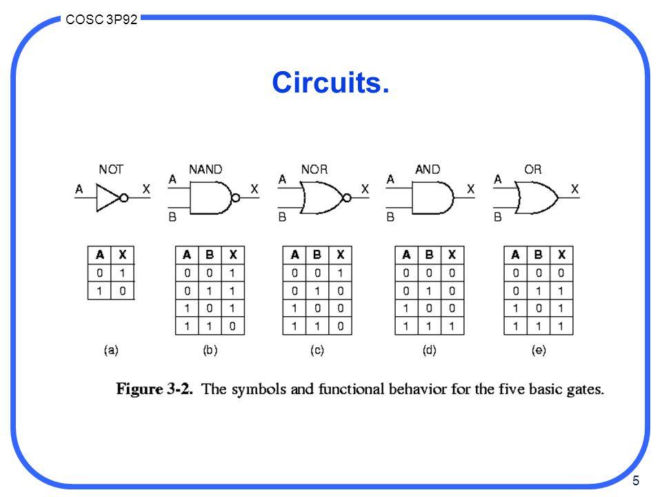 Circuits.