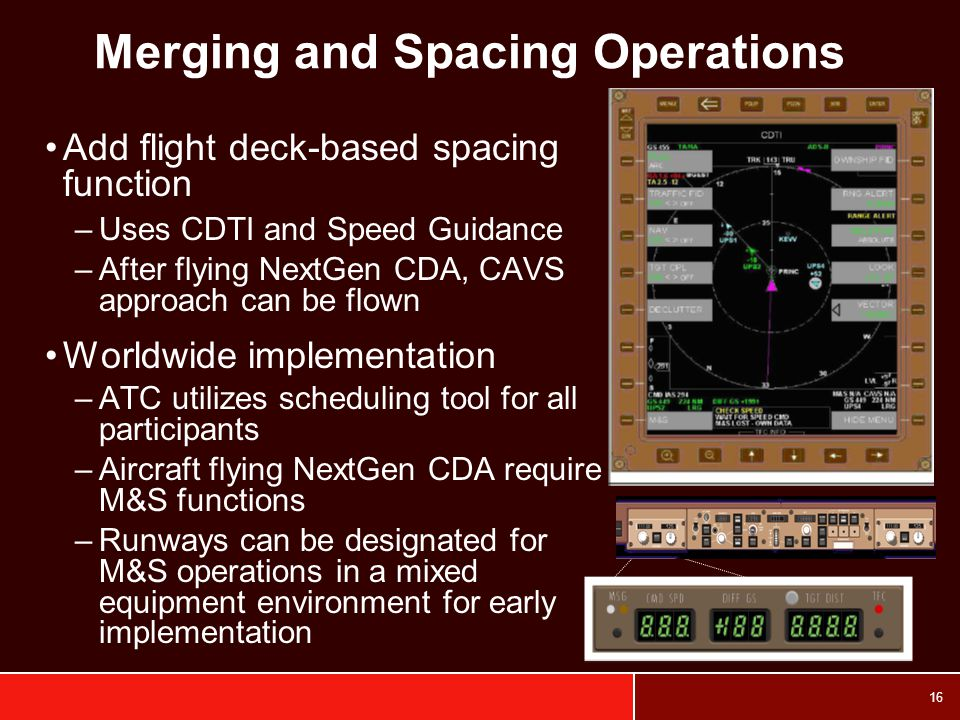 Merging and Spacing Operations
