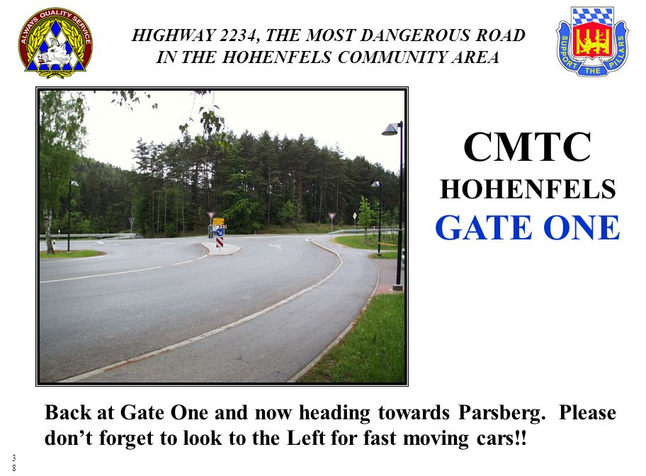 CMTC HOHENFELS GATE ONE