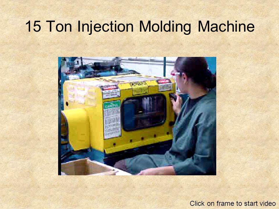 15 Ton Injection Molding Machine