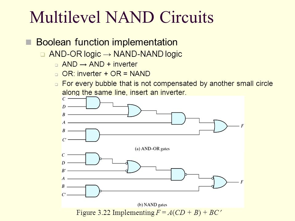 Multilevel NAND Circuits